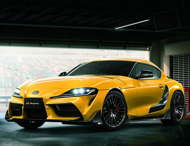 The New Supra Can Indeed Be Had With a Manual Gearbox
