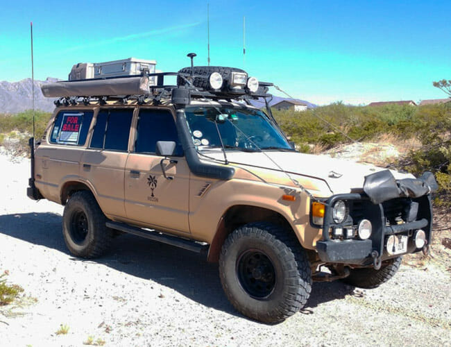 This Toyota Land Cruiser Could Be the Ultimate Adventure Vehicle Bargain