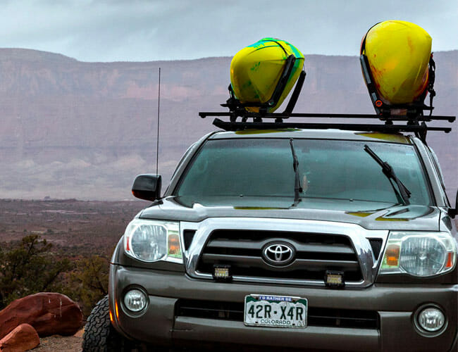 Kuat's New Roof Rack is Perfect for Kayakers