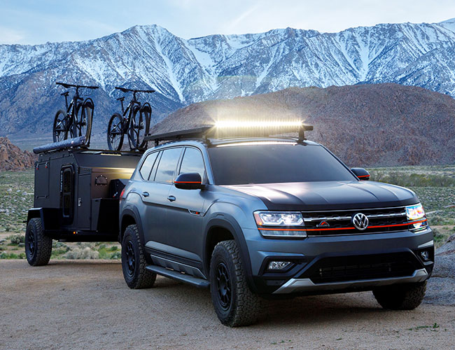 The VW Atlas Basecamp Is the Overlanding Heir to the Westphalia