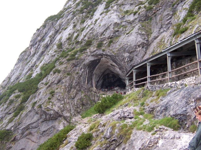 Ice Cave Entrance, Austria