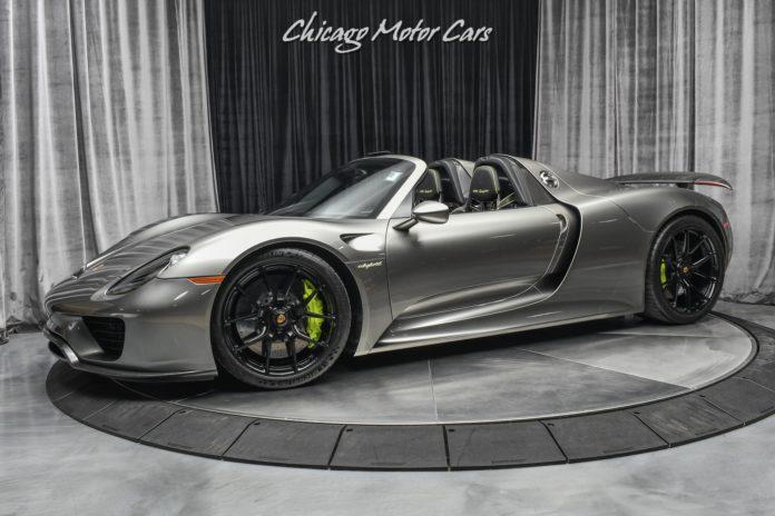 Porsche 918 Spyder Liquid Metal Silver