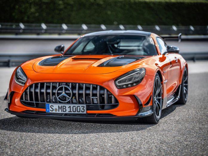 Orange AMG GT Black Series Wheels Price