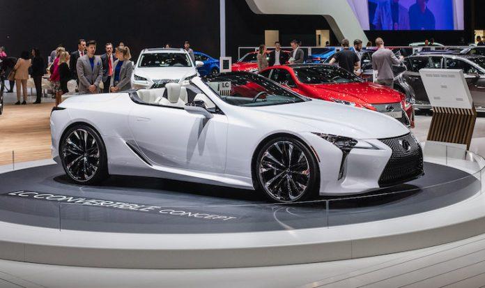 Lexus Concept LC Cabriolet