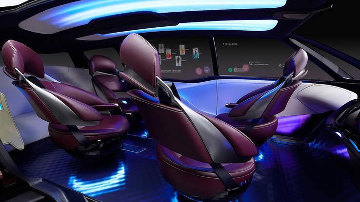 2017 Toyota Fine-Comfort Ride concept interior