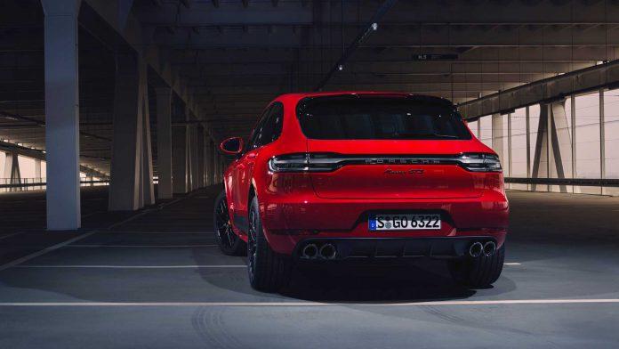 2020 Porsche Macan GTS Rear