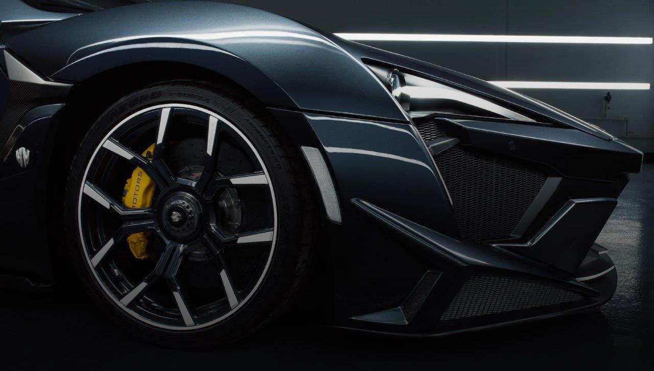 W Motors Fenyr Front Detail