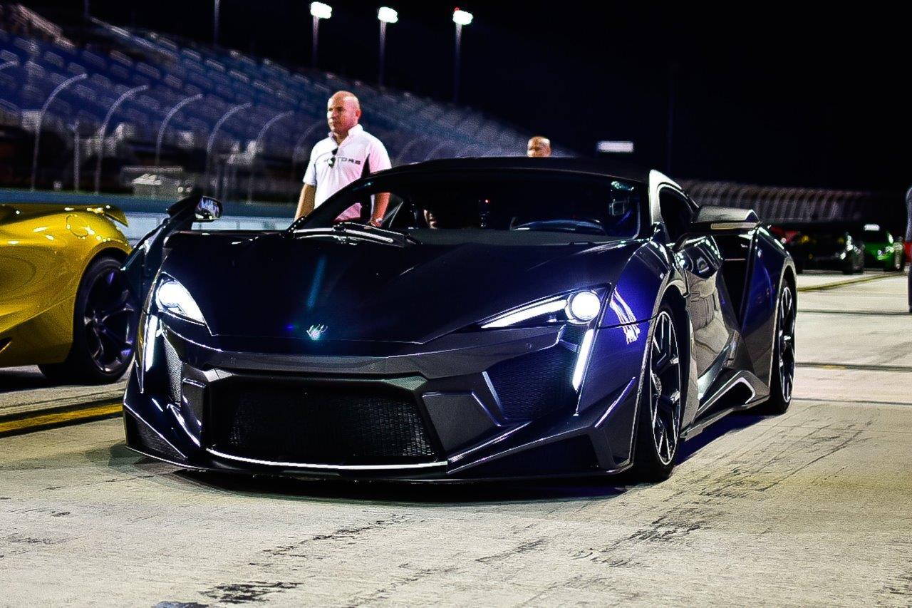 Blue W Motors Fenyr at Homestead-Miami Speedway