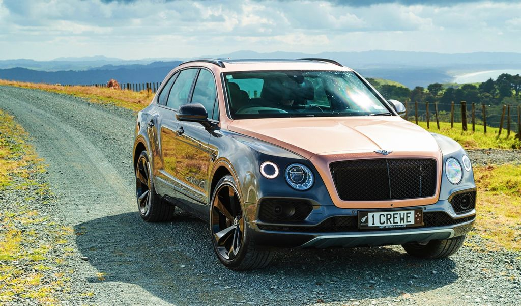 Bentley Bentayga Super SUV