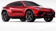 Lamborghini Urus concept previews Italy's most athletic SUV